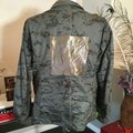 The People Of The Labyrinths Olive Green Camo Jacket Size 4 (S) The People Of The Labyrinths Olive Green Camo Jacket Size 4 (S) Image 6