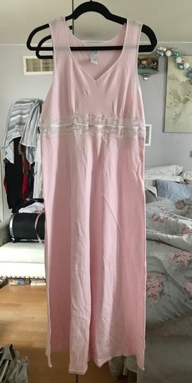 Preload https://img-static.tradesy.com/item/27626744/aria-pink-with-white-lace-sleep-gown-new-tags-0-0-540-540.jpg