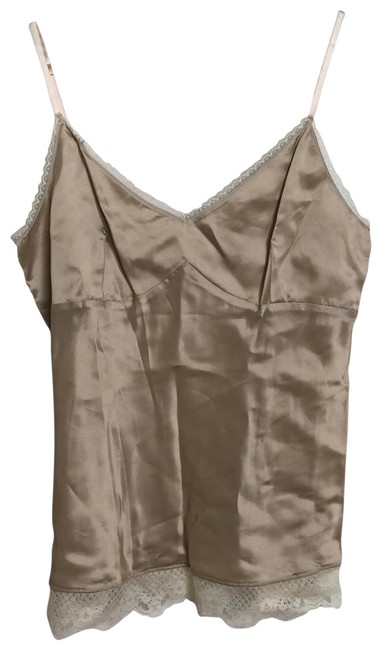 Item - Cream Off White Lace Tank Top/Cami Size 8 (M)