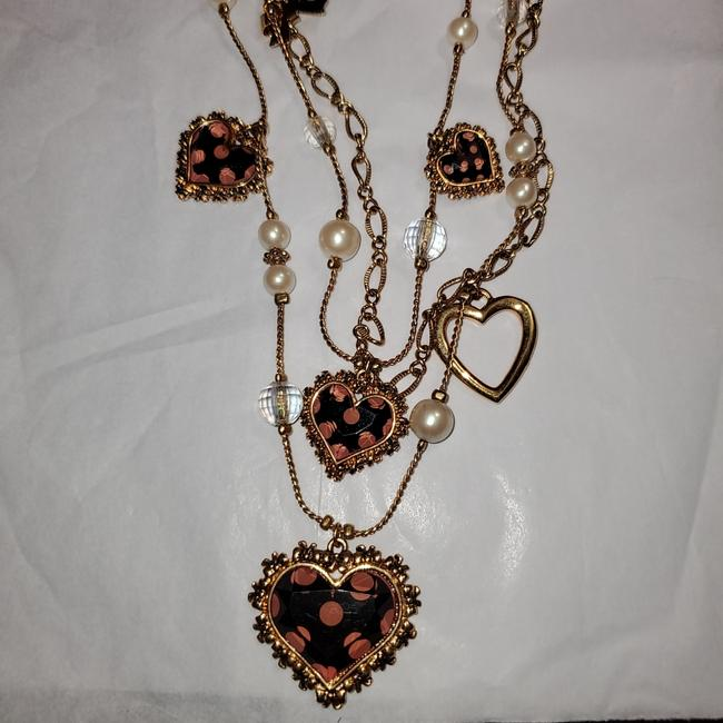 Item - Gold Triple Heart Necklace