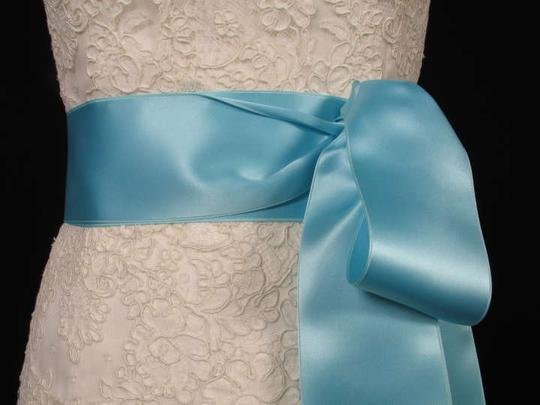 Tiffany Blue Ribbon Sash