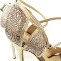 Jimmy Choo Champagne Fayme Sandals Size US 7 Regular (M, B) Jimmy Choo Champagne Fayme Sandals Size US 7 Regular (M, B) Image 5