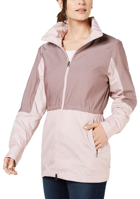 Item - Mineral Pink Sustina Springs Long Lined Windbreaker Activewear Outerwear Size 16 (XL, Plus 0x)