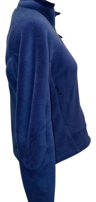 Item - Blue Fleece Full Zip Up Jacket Size 8 (M)
