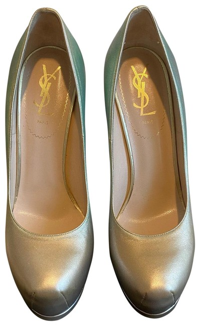 Item - Miscel-gold/Met Tribtoo 105 Pumps Size US 8.5 Regular (M, B)