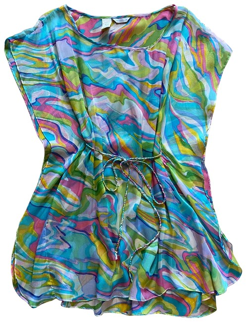 Item - Multicolor Tunic Beach Cover-up/Sarong Size 4 (S)