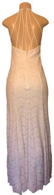 Windsor White Lace Long Formal Dress Size 8 (M) Windsor White Lace Long Formal Dress Size 8 (M) Image 1