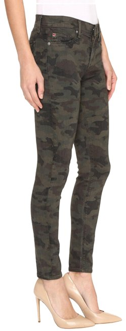 Item - Green Nico Mid Rise Ankle Super Infantry Camo R Skinny Jeans Size 24 (0, XS)