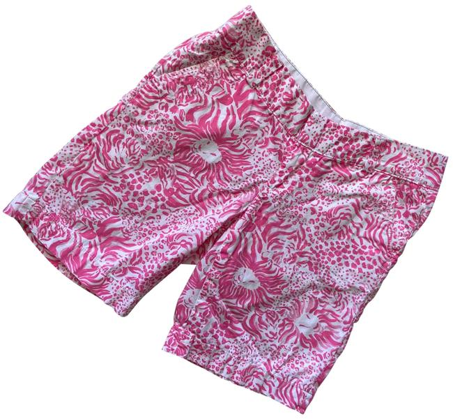Item - Pink White Chipper Shorts Size 4 (S, 27)