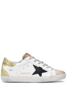 Golden Goose Deluxe Brand White/Gold Athletic