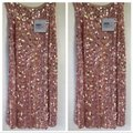 Luisa Beccaria Pink Womens Georgette Sequins Skirt Size 6 (S, 28) Luisa Beccaria Pink Womens Georgette Sequins Skirt Size 6 (S, 28) Image 5
