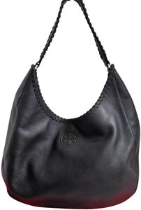 Tory Burch Whipstitch Leather Marion Hobo Bag