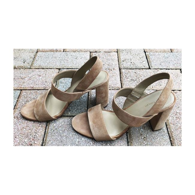 Item - Tan Strappy High Heel Sandals Size US 8.5 Regular (M, B)