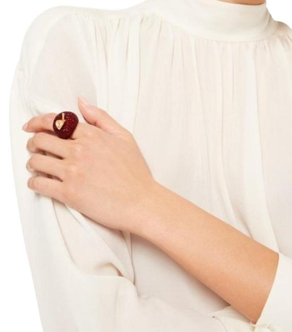 Item - Red Gold Dashing Beauty Apple Ring