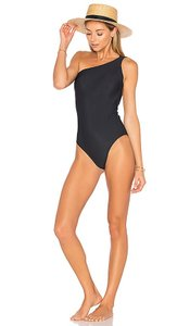 Lenny Niemeyer One-Shoulder Maillot One-Piece