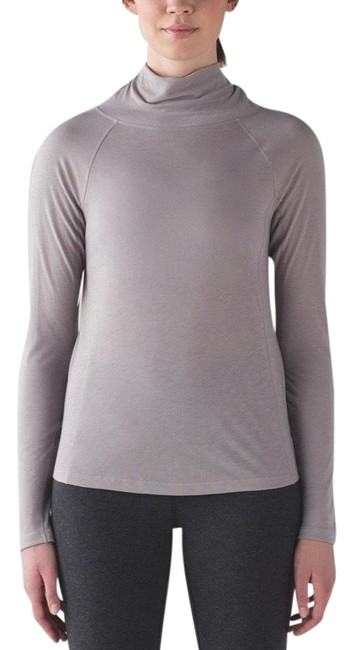 Lululemon Dark Chrome Breathe-a-wool Activewear Top Size 6 (S) Lululemon Dark Chrome Breathe-a-wool Activewear Top Size 6 (S) Image 1