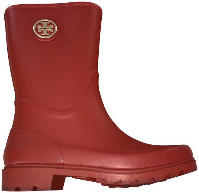 Item - Red Maureen Rain Boots/Booties Size US 7 Regular (M, B)