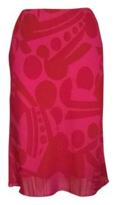The Limited Skirt Fuchsia / Red