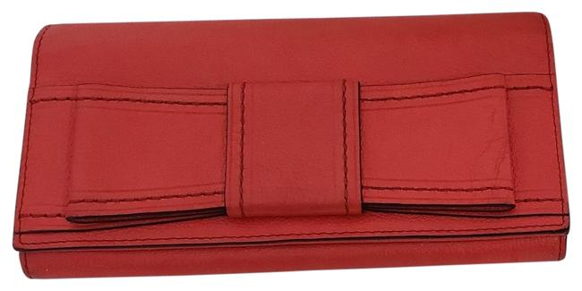 Item - Red Womens Valencia Road Mara Leather (Fits 14 Cards Wallet