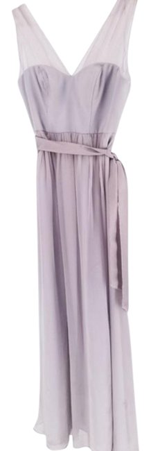 Item - Gray Silver Josephine Bridesmaids Long Cocktail Dress Size 2 (XS)