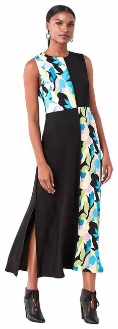 Item - Multicolor Verona 13939 Dvf Stretch Long Casual Maxi Dress Size 4 (S)
