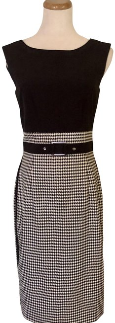 Item - and Lined Belt Sz: Mid-length Work/Office Dress Size 2 (XS)