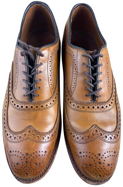 Item - Mcallister Wingtip 3e Brown Men's Formal Shoes Size US 8.5 Extra Wide (Ww, Ee)