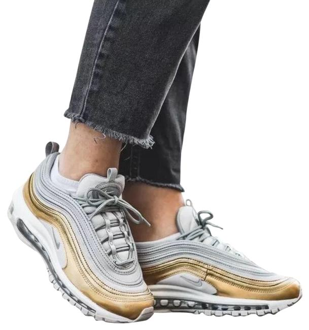 Item - Silver Women's Air Max 97 Se Metallic Max Air Unit Provides Lightweight Cushioning. Style/Color: Sneakers Size US 7 Narrow (Aa, N)