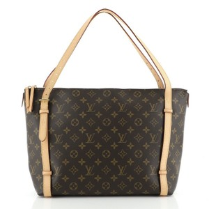 Louis Vuitton Tuileries Canvas Tote in Brown