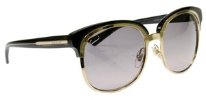 Gucci Gucci 4241/S EZK Gold /Dark Gray Women's Sunglasses NWT