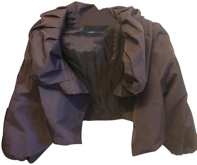 Item - Brown Puffy Shrug Jacket Size 0 (XS)