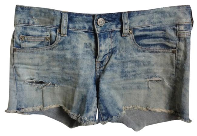 American Eagle Outfitters Denim Shorts Size 2 (XS, 26) American Eagle Outfitters Denim Shorts Size 2 (XS, 26) Image 1
