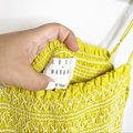 Lost + Wander Yellow Mojito Smocked Lime Romper/Jumpsuit Lost + Wander Yellow Mojito Smocked Lime Romper/Jumpsuit Image 3