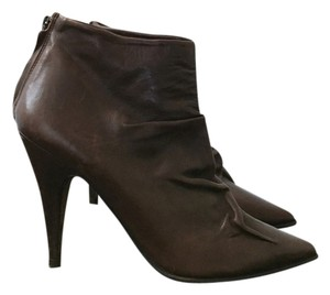 Pedro Garcia Leather Bootie Brown Boots