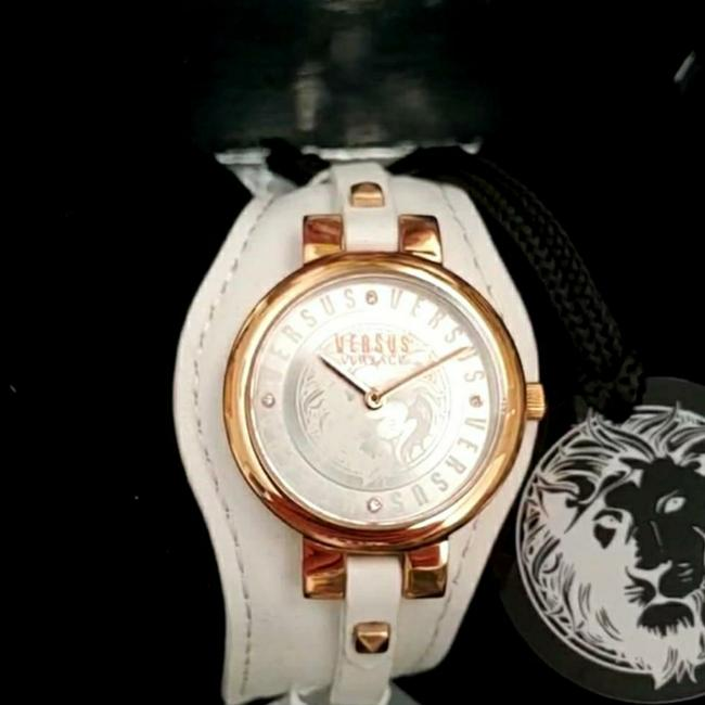 Item - White and Rose Gold Ip Berlin Watch