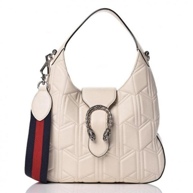Item - Dionysus Calfskin Quilted In White Leather Hobo Bag