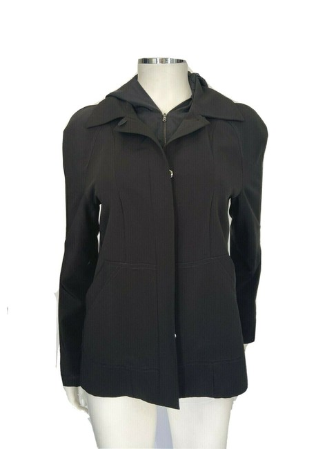 Item - Black Hooded Small Jacket Size 4 (S)
