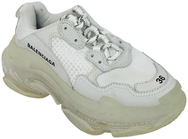 Item - Ivory Triple S Low-top Sneakers Size EU 36 (Approx. US 6) Regular (M, B)