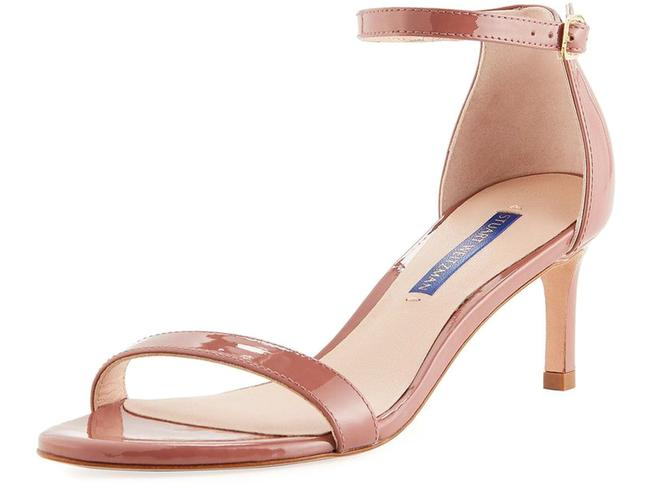 Item - Pink Brown Nunaked Straight Patent Leather Sandals Size US 9 Regular (M, B)