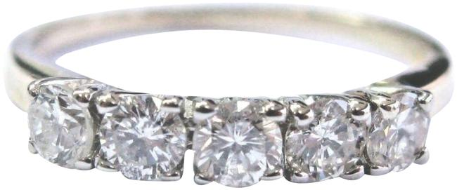 Item - Yellow Gold Fine Round Cut Diamond 5-stone Band .75ct 14kt Ring