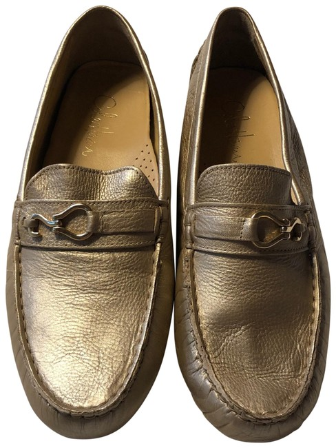 Cole Haan Soft Gold Air Penny Tant Leather Moccasins Flats Size US 10.5 Regular (M, B) Cole Haan Soft Gold Air Penny Tant Leather Moccasins Flats Size US 10.5 Regular (M, B) Image 1