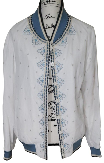 Item - White /Conditions Apply Arabella Jacket Size 12 (L)