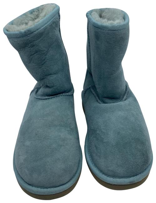 Item - Pastel Green Mid Boots/Booties Size US 4 Regular (M, B)