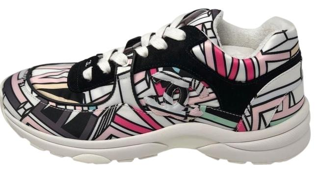 Item - Multicolor Graffiti Cc Logo Sneakers Size EU 39 (Approx. US 9) Regular (M, B)