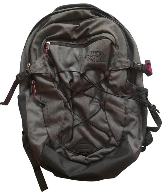 Item - Borealis Gray with Purple Detail Backpack