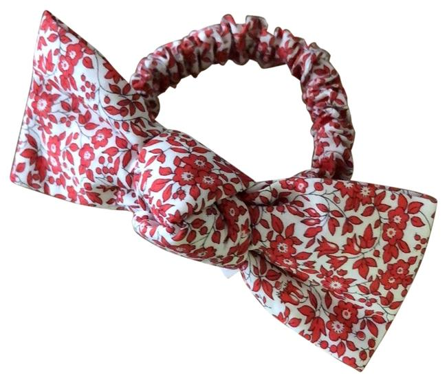 Item - Red Knotted Tie Scrunchie Hair Accessory