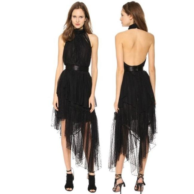 Item - Black Legacy Layered Mid-length Night Out Dress Size 8 (M)