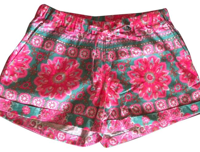 Item - Pink and Teal Shorts Size 00 (XXS, 24)
