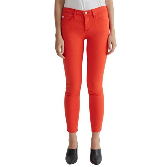 Item - Red Legging Super Ankle Skinny Jeans Size 26 (2, XS)