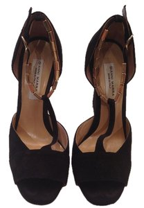 Gianni Marra made in Italy Suede Sandal black Sandals